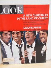 VINTAGE LOOK MAGAZINE- 12/26/67 - DEAN MARTIN on Sinatra, Kennedy,Mafia -