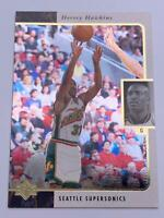 Basketball Cards💎1996💎Upper Deck - Seattle SuperSonics - Hersey Hawkins🌟123