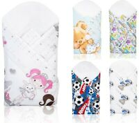 BABY INFANT SWADDLE WRAP NEWBORN BLANKET COTTON SLEEPING BAG NEW DESIGNS