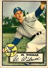 1952 Topps 133 Al Widmar VG #D359760