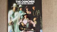 THE OSMONDS - LOVE ME FOR A REASON 1974 mgm 2315 312 vinyl lp.