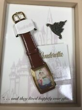 Disney Cinderella Watch FairyTale Collection Limited Edition#368-2500 RARE NIB
