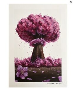 Pez HIROSHIMA giclee print with screen print varnish - SOLD OUT