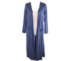 LuLaRoe Womens Duster Sarah Long Open Front Cardigan Pockets Long Sleeve Size S