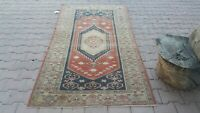 area rug ,4x7 ft,Turkish Rug,Anatolian Rug,Bohemian,Vintage rug,Oushak Wool Rug