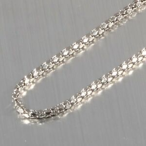 "New 2.4MM Stainless Steel Diamond Chain Necklace Length 18"" to 40"""