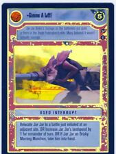 Star Wars CCG Reflections 3 III Foil Gimme A Lift