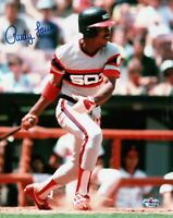 Rudy Law Signed 8X10 Photograph Autograph White Sox Batting Auto w/COA