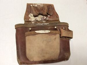 Occidental Leather Construction Tool Belt Pouch Bag NO Rips Or Tears OG