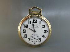 Hamilton Railway Special Pocketwatch 992-B Working, 1942