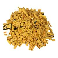 Bulk Yellow LEGO Bricks 1 Pound LB Parts Pieces Blocks Assorted Mixed Lot Build
