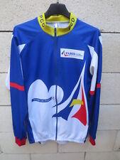 Maillot PARIS CYCLISTE OLYMPIQUE manches longues Bovis shirt 6 XXL