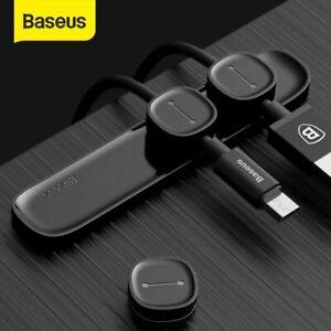 Baseus Magnetic Kabel Organizer Kabelclip Selbstklebend Kabelhalter Kabelführun