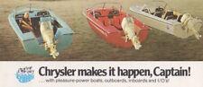 Chrysler Marine US Brochure 1960's MOPAR - Outboards, Inboards, Pleasure Boats