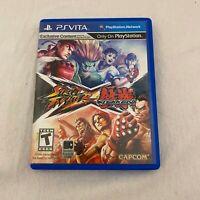Street Fighter X Tekken (Sony PlayStation Vita, 2012)