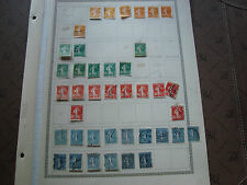 FRANCE - 39 timbres obliteres (br1) stamp french