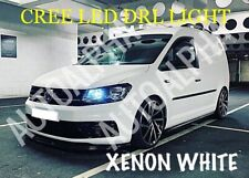 VW CADDY DRL CREE LED XENON COOL WHITE DAYTIME RUNNING LIGHT BULBS UPGRADE T5 T6