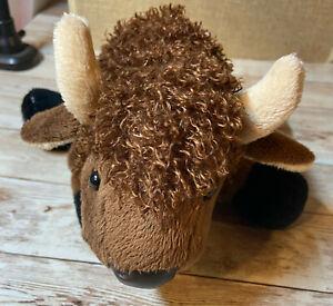 Webkinz American Buffalo Plush Stuffed NO CODE
