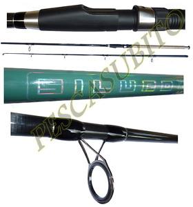 canna da pesca siluro 2.70mt azione 100/300g catfishing break line boa fondo
