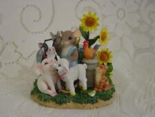 """Charming Tails Dean Griff """"Dairy Good Friends"""" Fitz & Floyd Special Event Ltd Ed"""