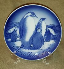 Bing and Grondahl 1998 Penguin Mother's Day Plate