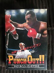 Mike Tyson's Punchout Famicom NES CIB