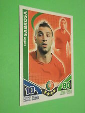 CARTE MATCH ATTAX N° 107 SIMAO SABROSA ATTAQUANT TOPPS TRADING CARD GAME 2010