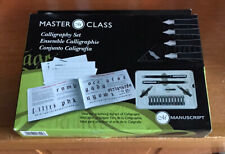 Unused Master Class Calligraphy Set By Manuscript Pen Company.