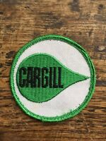"""Vtg Cargill Sew On Embroidered Patch 2.5"""" Farm Seed Farming Agriculture Badge"""