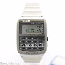 Casio CA-506-1D Men Vintage Alarm Stopwatch  Stainless Steel Watch CA-506-1