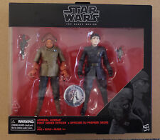 "Star Wars ""The Black Series General Ackbar & First Order"""