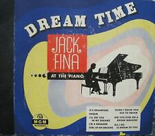Vintage DREAM TIME Jack Fina at the Piano MGM Yellow Label 4 Record Set