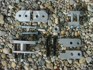 "Yamaha Rhino 450 660 700 2 "" Lift Kit CFM Performance Aluminum"