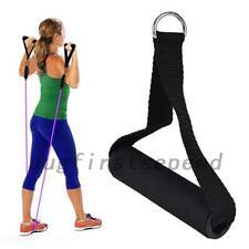 1pcs/4pcs Tricep Rope Cable Gym Attachment Handle Bar Resistance Exercise Black