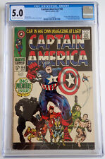 Captain America #100 ~ CGC 5.0 ~ First Issue (1968) !