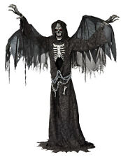 HALLOWEEN LIFE SIZE ANIMATED ANGEL OF DEATH PROP DECORATION HAUNTED HOUSE