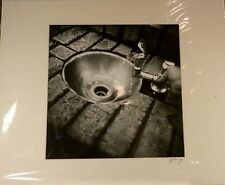 """NICE MATTED (20"""" BY 16"""") ART PICTURE PHOTOGRAPH """"SHORT SUPPLY"""" MT DORA FLORIDA"""