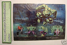 EVOLUTION of INCREDIBLE HULK JIGSAW PUZZLE ARGENTINA