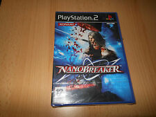Nanobreaker (PS2) PLAYSTATION 2-pal NUEVO PRECINTADO