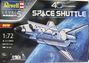 SPACE SHUTTLE 40th Anniversary GIFT SET plastic assembly kit 1:72nd REVELL 05673