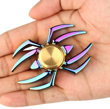 Newest Spider Fidget Spinner Rainbow Metal Hand Spinner Finger Toy Adult or Kids