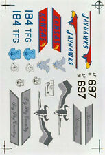 F-16s MONTANA & KANSAS ANG DECAL SUPER SCALE INTERNATIONAL 32-81