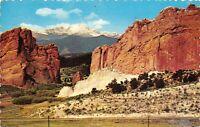 Vintage 1977 USA Postcard, Pikes Peak Region Colorado, United States Hi3