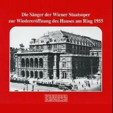 LES CHANTEURS DE VIENNE Opéra à la réouverture du Parlement DU RING 1955 3 C