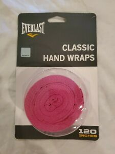 PINK Everlast Classic Hand Wraps 120 Inches Boxing ,  Fitness, MMA Training