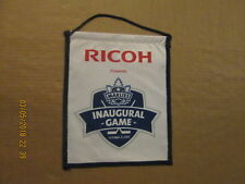 AHL Toronto Marlies RICOH Presents Inaugural Game Circa 2005 Hockey Banner Flag