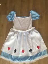 ADULT Plus Size 20 22 24  Alice in Wonderland Style Fancy Dress Costume