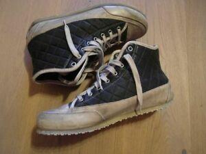 ♥ CANDICE COOPER High Top Sneaker / Schuhe ♥ 40 ♥ schwarz ♥ tolles Leder ♥