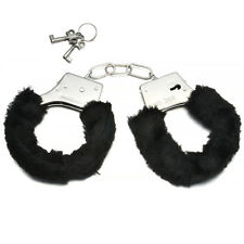Furry Soft Metal Handcuffs Chastity SM Bondage Night Party Role-playing Sex Toys