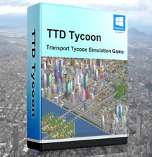 Open TTD Transport Tycoon Sim Game Enhanced Edition City PC Software OpenTTD